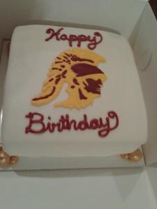 USC Tojan Cake